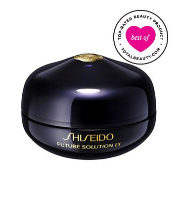 "Best Eye Cream No. 3: Shiseido Future Solution LX Eye and Lip Contour Regenerating Cream, $130 ember rating: 9.4*  Why it's great: Don't be deterred by this eye cream's steep price tag, reviewers say. They call this ""fantastic"" product ""one of the best eye creams"" and say it's ""well worth the money."" One reader raves ""it leaves [her] eyes and mouth smooth, moisturized and flawless."""
