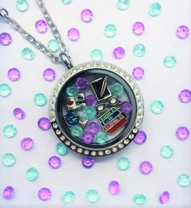 Detriot Locket-Creatively Crafted Floating Lockets-The Copper Closet