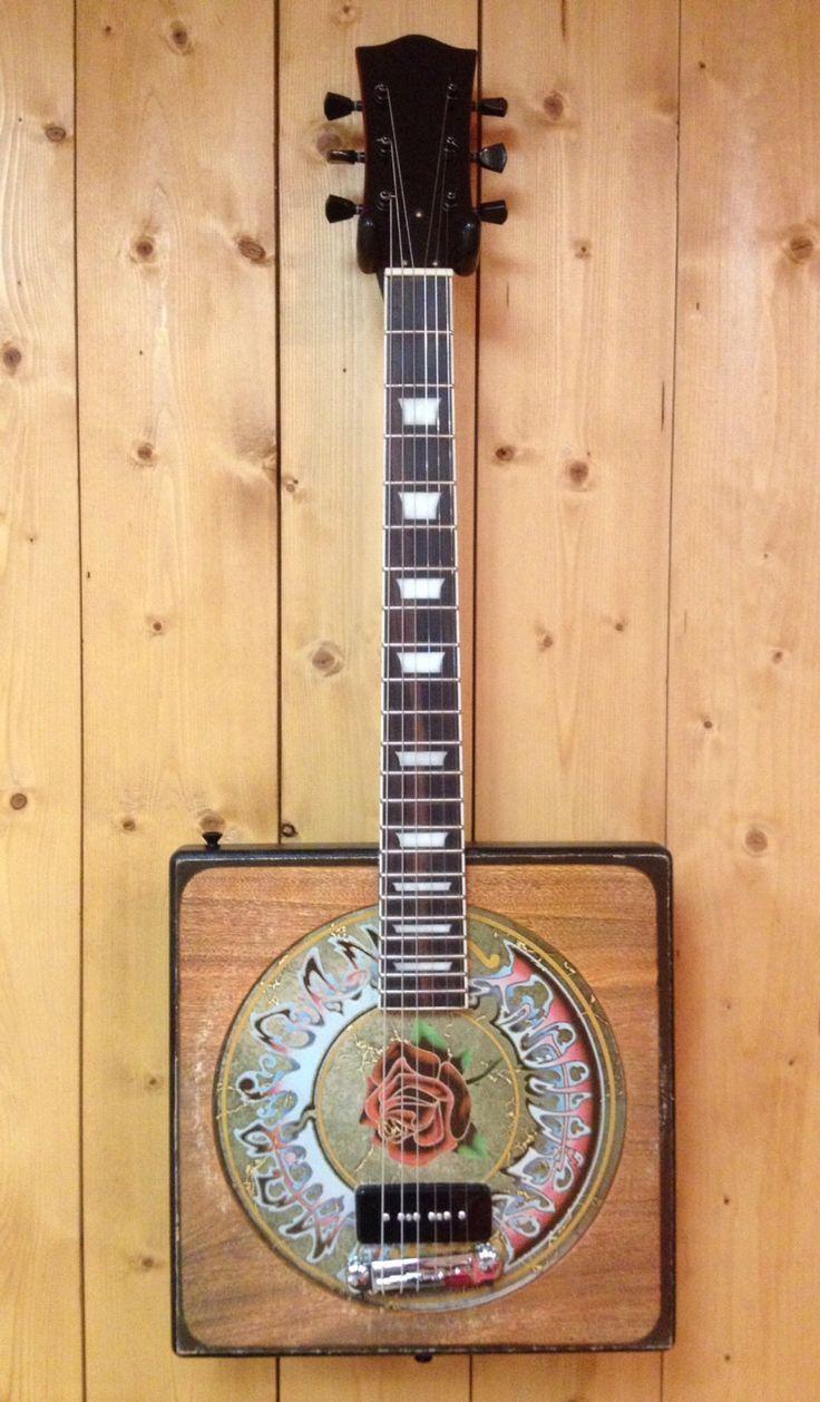 Grateful Dead Jerry Garcia American Beauty Vinyl LP Album Cover Electric Guitar