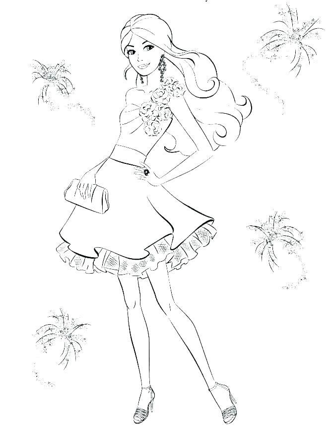 Barbie Mermaid Coloring Page Barbie Coloring Pages Free Free
