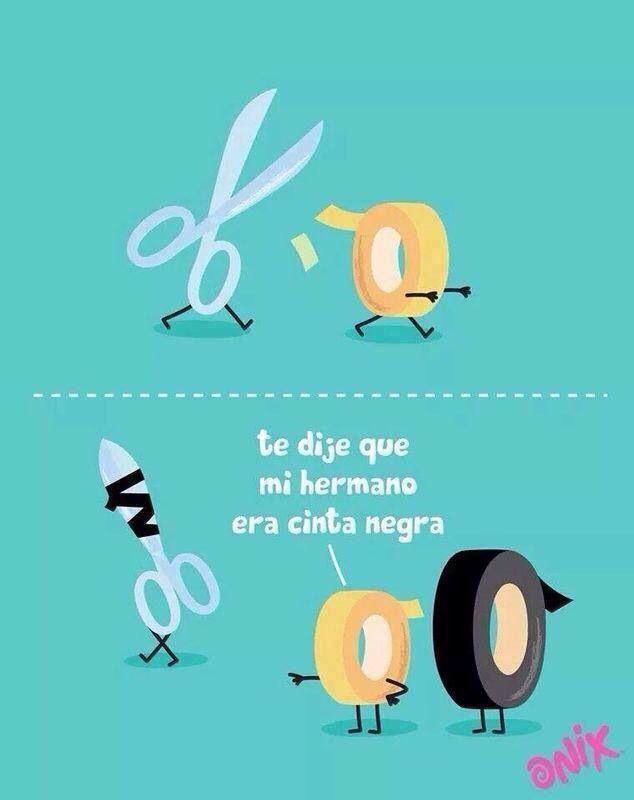 Cinta negra - funny :)