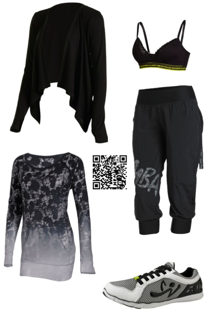 My Zumba outfit of the week!  Scan or use code SACCHIA at checkout to save 10%!!