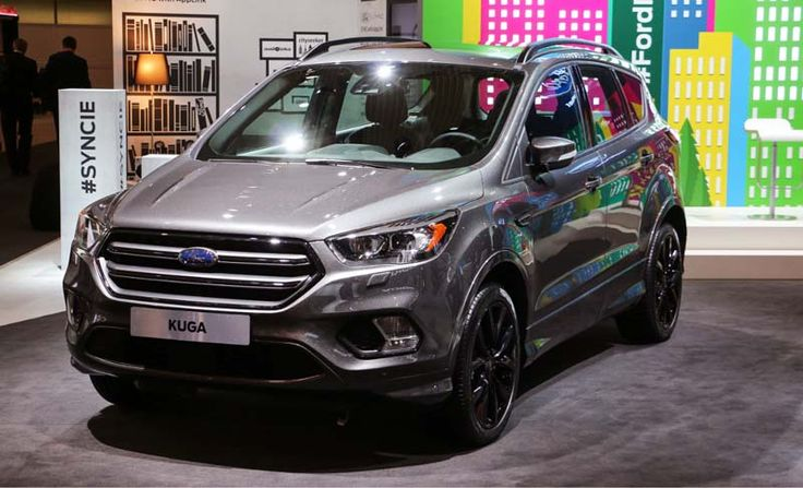 2017 Ford Kuga overview
