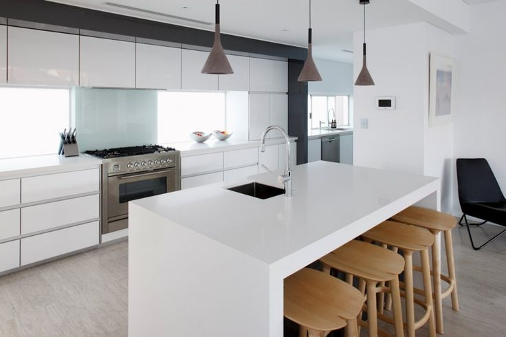 Aplomb Pendant By Luca Pevere, Paolo Lucidi for Foscarini + love this kitchen island