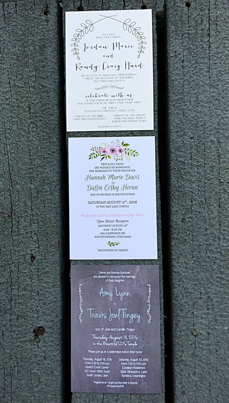bed bath and beyond wedding invitation kits%0A Cheap and beautiful wedding invitations by Beautiful Wedding Announcements