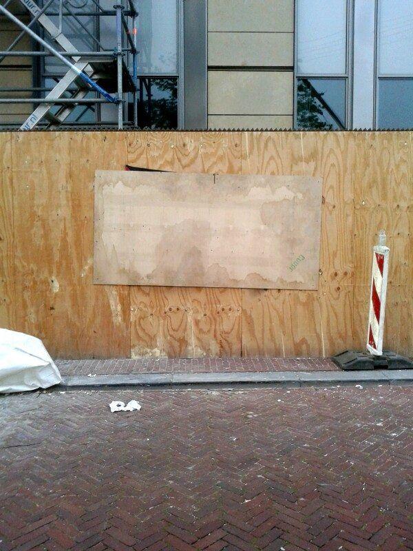 Palestina, Israël, Protest, Streetart, Public, Art, Kunst, Political, LjvanT, Lj van Tuinen, Leeuwarden, Barbwire, Fence, Prikkeldraad, Davidster, Sabotage, Censuur, Censored