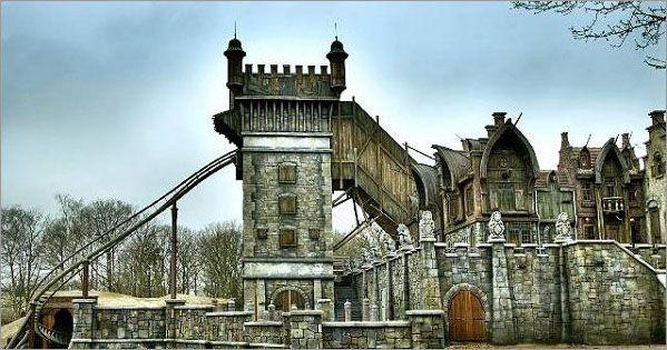 De Vliegende Hollander, theme park The Efteling, Holland