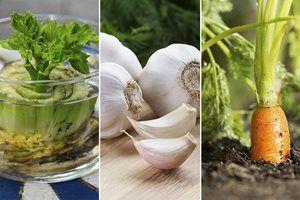 10 grøntsager som du kan gro igen og igen