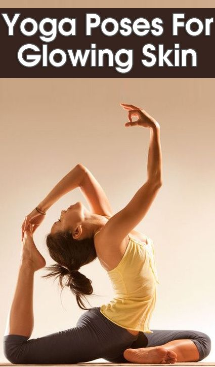 8 Yoga Poses For Glowing Skin. #yoga #watchwigs www.youtube.com/wigs
