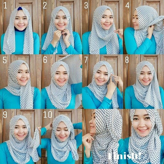 Checkered pattrns are In this season whether it is a black and white, teal and white or any other shades combination, The checkered hijabs are mostly worn as neck scarves, but they also look stylish as hijabs. Check out this…