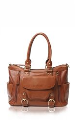 "Epiphanie Caramel Florence camera bag. Sale Price: $199 (until tonight). Will ship mid-Jan. Leather. 13.5""L x 8""D x 9""H"