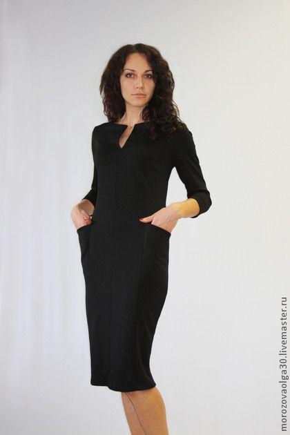 Платья ручной работы. Ярмарка Мастеров - ручная работа Трикотажное платье Джеки. Handmade.