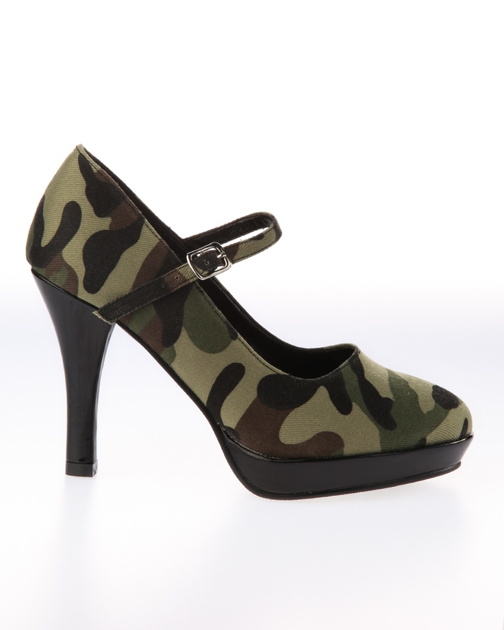 CAMO!: Army Green, Fashion, Camo, Style, Dress, Soldier Heel, Pleaser Soldier, Army Stuff
