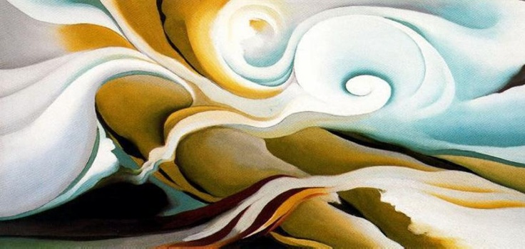 Georgia O'Keeffe (American, Precisionism, 1887–1986): Nature Forms, Gaspe'; 1932. - Google Search