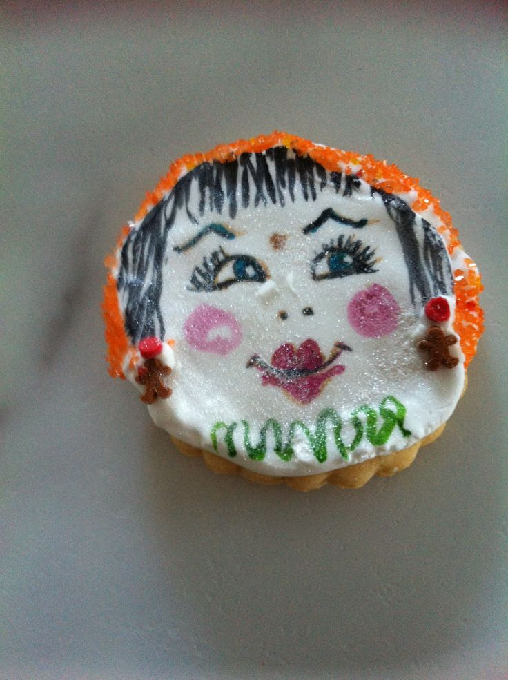 Hot stuff, Painted cookie by Sharon V