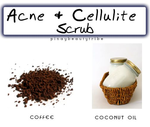 Homemade Scrub for Butt Acne and Cellulite