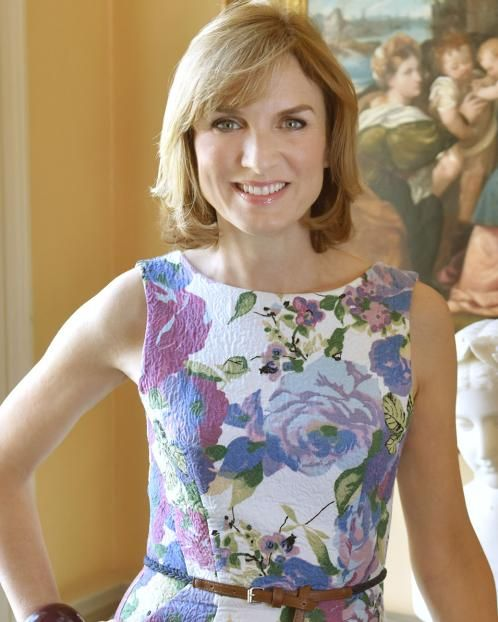 Fiona Bruce, news presenter and Antiques Roadshow host.