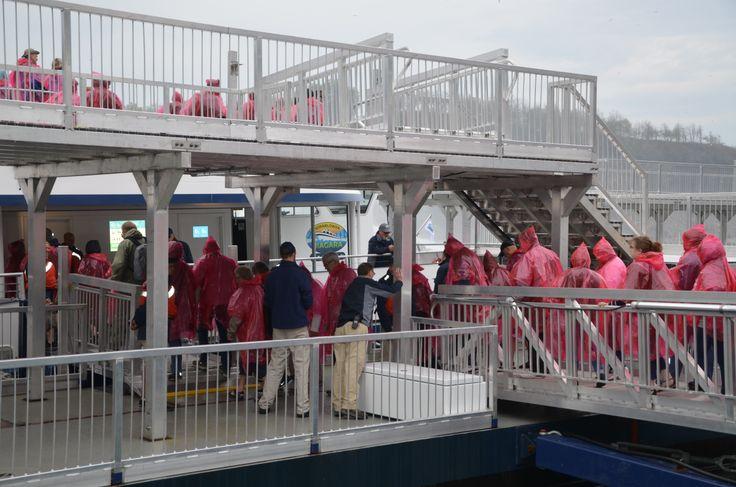 Hornblower Niagara Cruises official opens! www.niagaracruises.com #niagaracruises