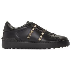 sale Valentino Black Studded Sneakers