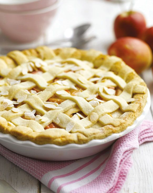 Apple, elderflower and almond pie - a gorgeous Easter alternative to simnel cake. Follow link for full recipe from appetite, North East England's dedicated food & drink publication.