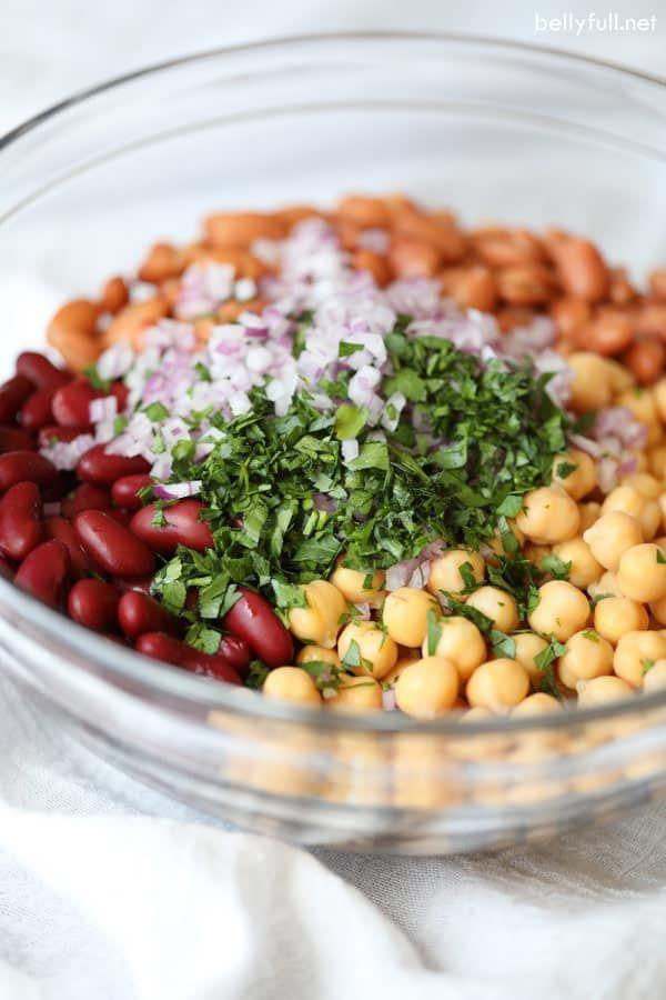 Three Bean Salad Recipe Easy