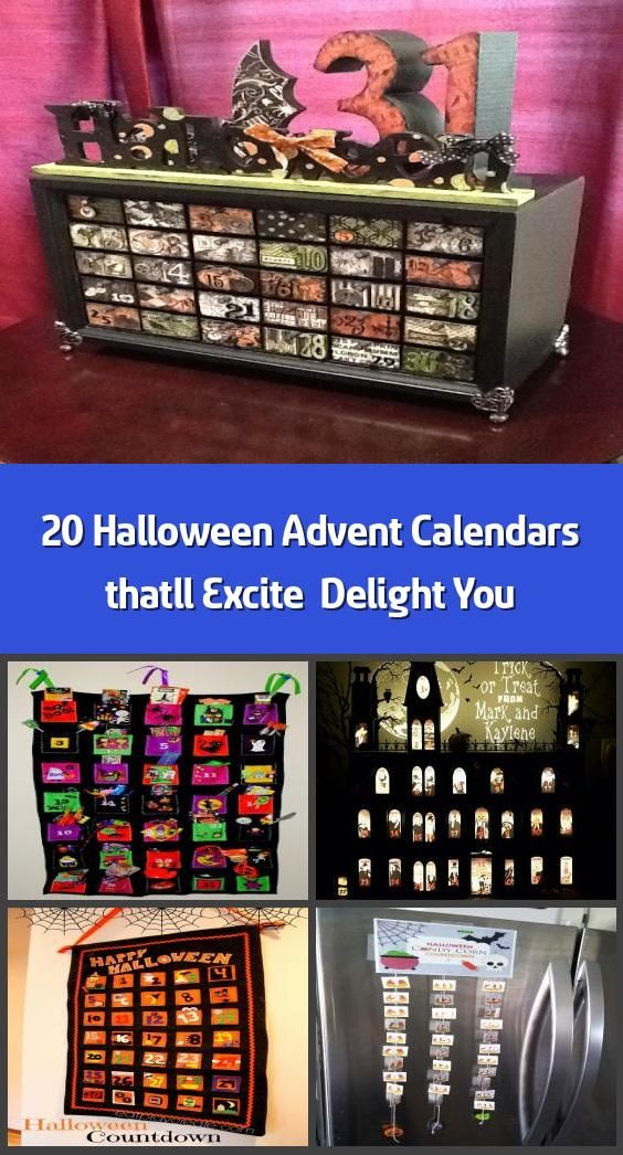 20 Halloween Advent Calendars that'll Excite & Delight You