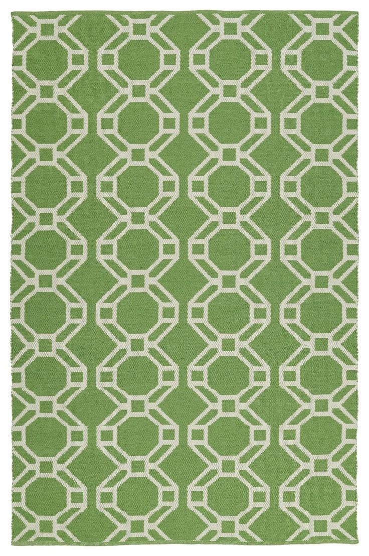 Brisa BRI05-96-A Lime Green Indoor/Outdoor Rug  #trendy #diy #rugs #carpet #floordecor #classy #myhome #instahome #dreamhome #interiorstyling