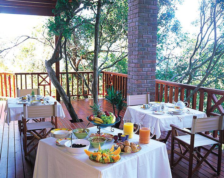 Peaceful breakfast start to the day at The Boardwalk Lodge www.boardwalklodge.co.za