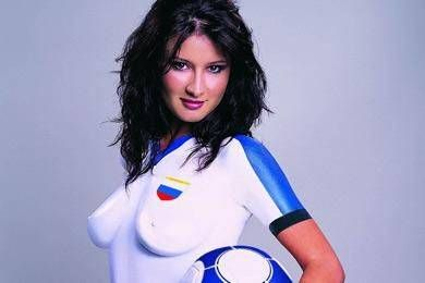 Body Paint, Russie Jersey | Football and Soccer Art ...