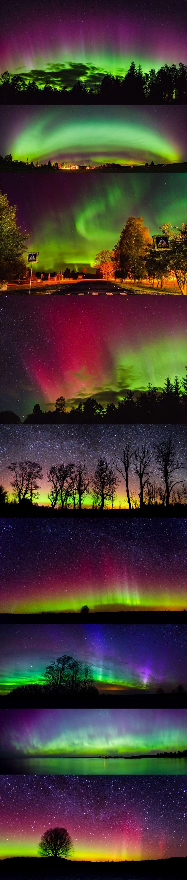 Aurora Borealis -Russia