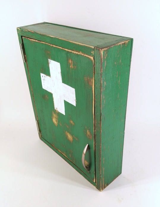 Details about First Aid Cabinet Medicine Wall Mount Bathroom