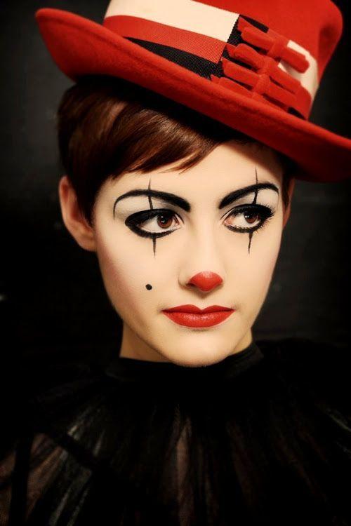 Afbeeldingsresultaat voor clown schminken (Diy Maquillaje)