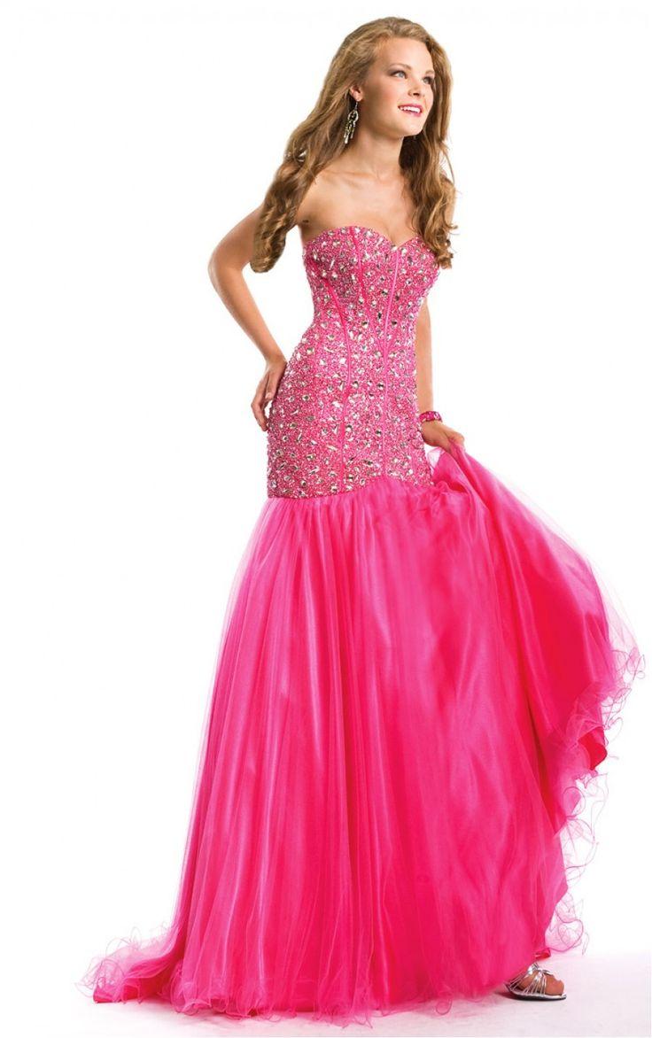 Charming Sweetheart Diamond Mermaid Floor-length Dress, Wholesale Prom Dresses