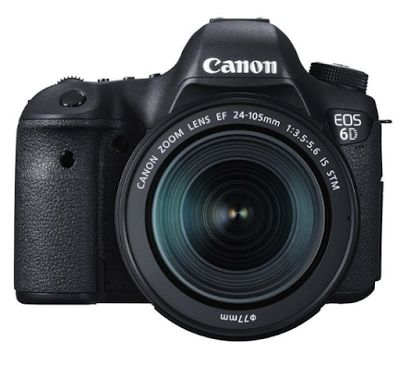 Canon EOS 6D Kit 24-105mm f/3.5-5.6 IS STM Kamera DSLR - Hitam [Wifi and GPS] | specification