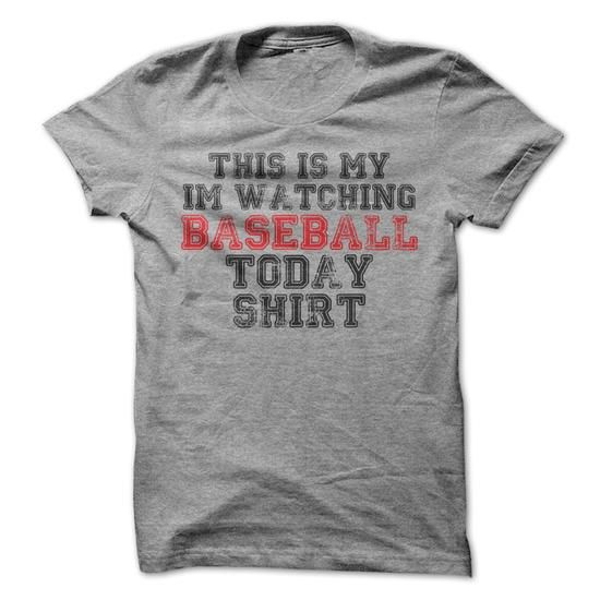 This Is My Watching Baseball Today T-Shirt - #shirt refashion #raglan tee. LIMITED TIME PRICE => https://www.sunfrog.com/Sports/This-Is-My-Watching-Baseball-Today-T-Shirt.html?68278