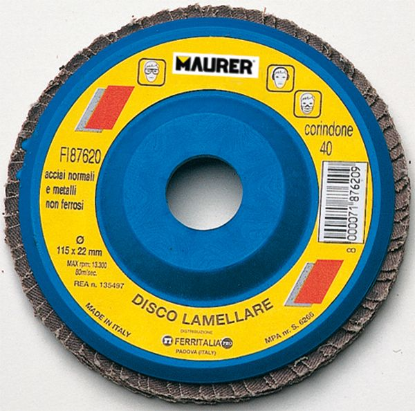 PREZZO BRICOPRICE.IT €  DISCO ABRASIVO LAMELLARE 115 Clicca qui http://www.bricoprice.it/shop/shop/utensili-elettrici/disco-abrasivo-lamellare-115/