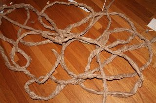 Lil Party Animals: How to make craft paper vines