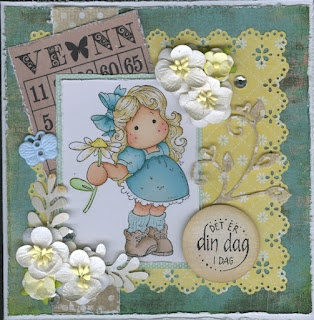 O'Heidia sin blogg - this is my own blog. I make cards and scrapbook pages.