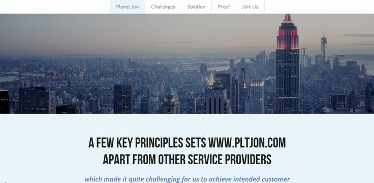 Story of how Planet Jon started and why a few key principles sets Planet Jon apart from other service providers.