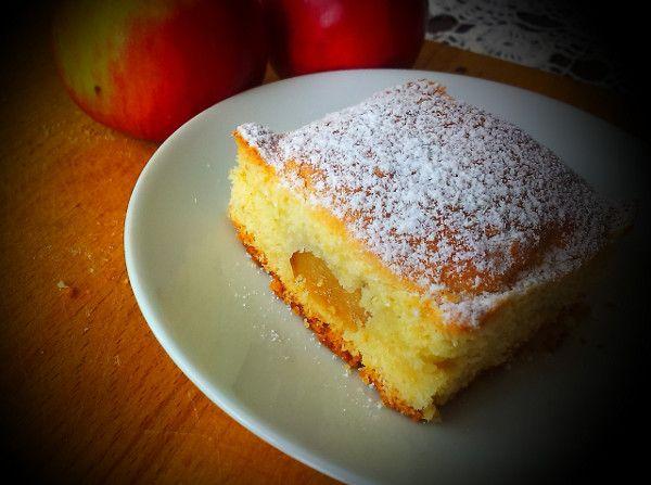 Kopčekový koláč s jablkami