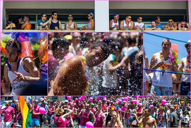 Tel Aviv Gay Pride Parade 2012