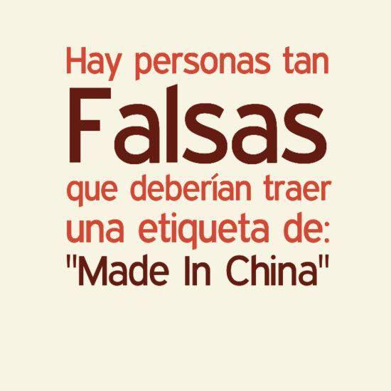 Fake people!