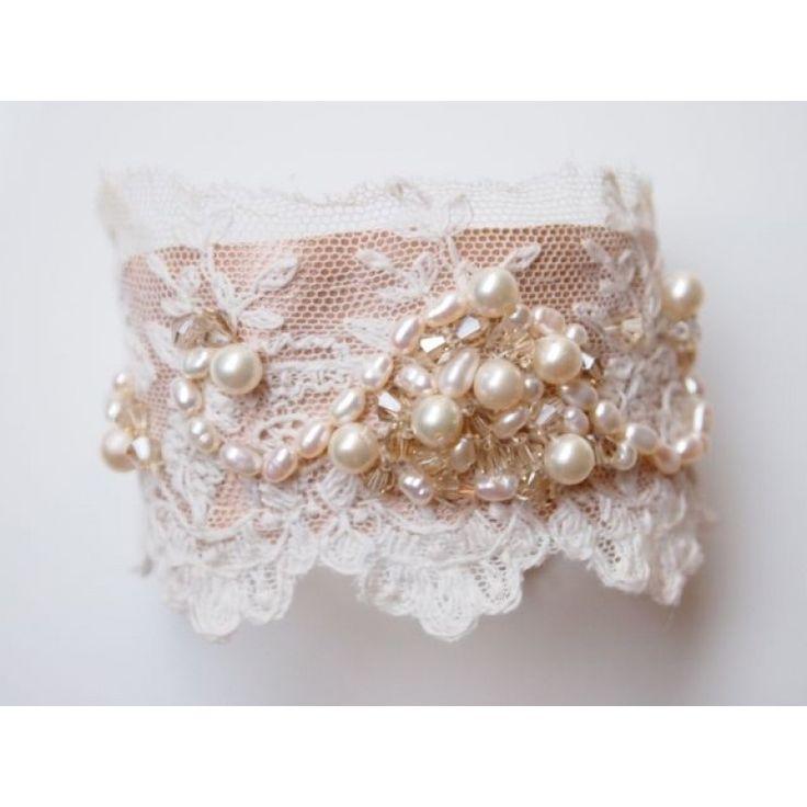 vintage+lace+cuffs   Vintage Bridal Jewellery   Lace Cuff Bracelet