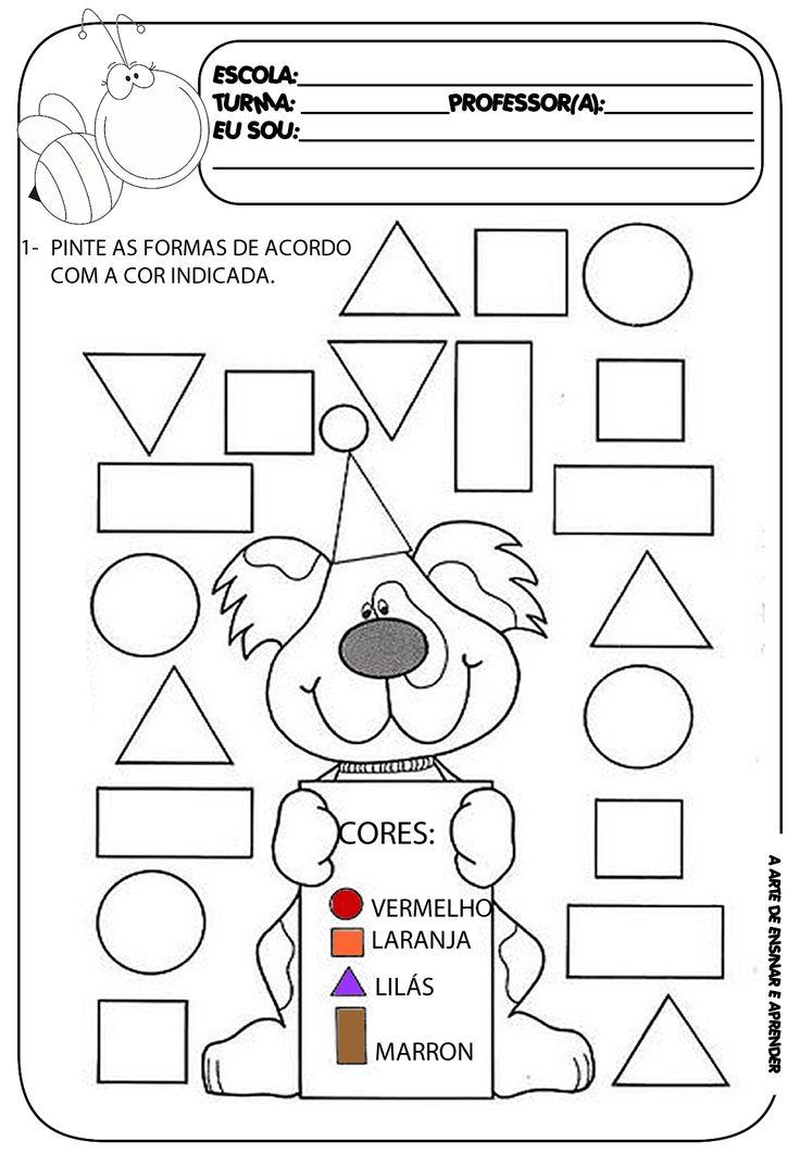 Atividade pronta - Formas geométricas