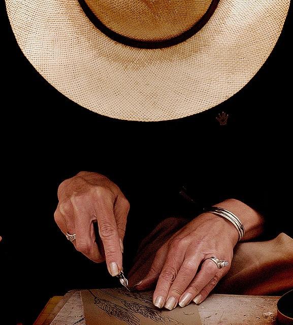 Artists hands by mark lum, via Flickr