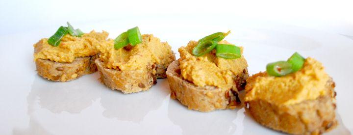 Tofu pomazánka se zeleninou