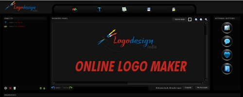 There is lots of free online logo maker software available, but none of them can produce really high quality,   read this post to know more...