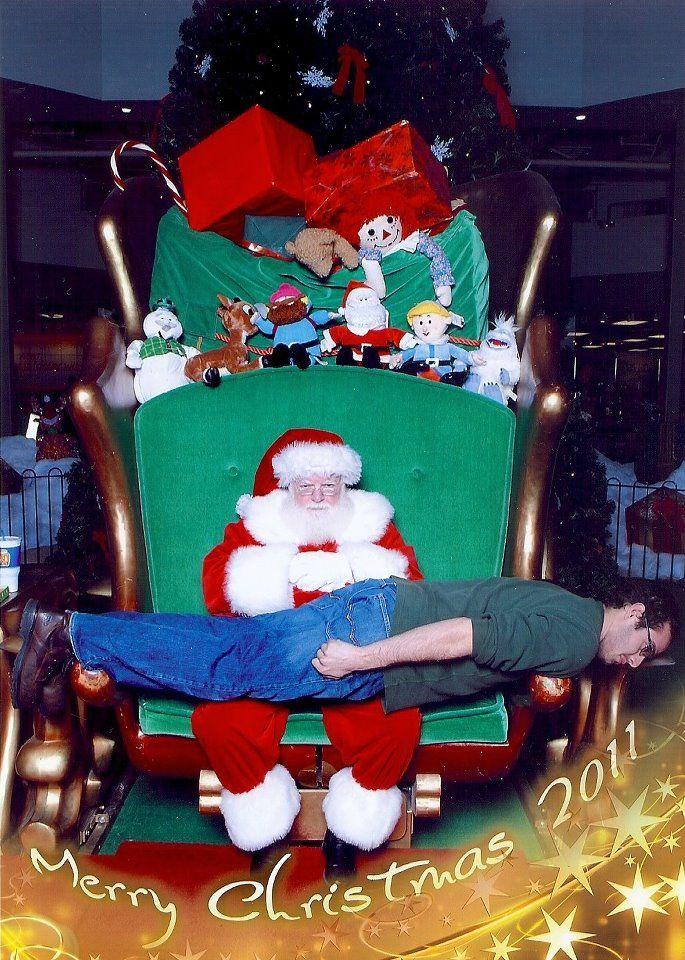 Planking with Santa