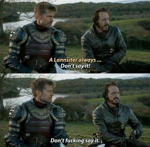 jaime lannister and bronn
