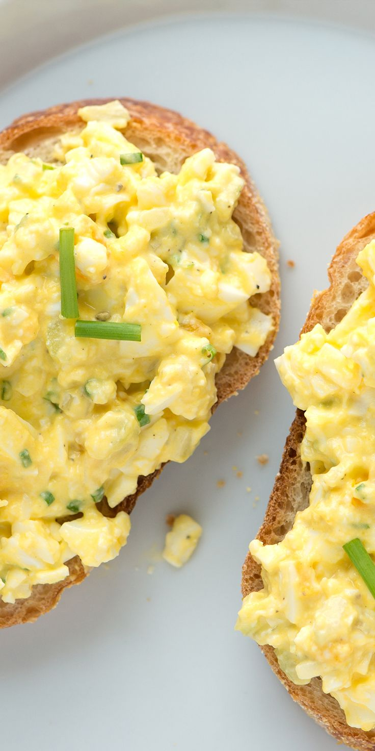 Simple Egg Salad Recipe from @inspiredtaste -- Love this recipe!